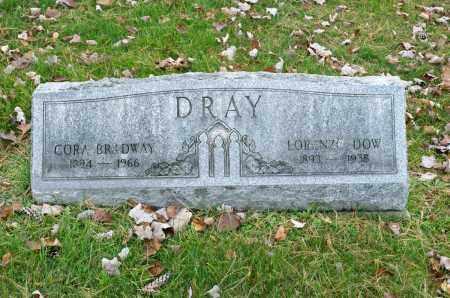 DRAY, CORA - Carroll County, Ohio | CORA DRAY - Ohio Gravestone Photos