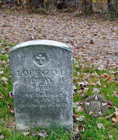 DRAY, LORENZO DOW - Carroll County, Ohio | LORENZO DOW DRAY - Ohio Gravestone Photos