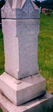 DUNLAP, DAVID - Carroll County, Ohio | DAVID DUNLAP - Ohio Gravestone Photos