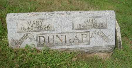 DUNLAP, JOHN - Carroll County, Ohio | JOHN DUNLAP - Ohio Gravestone Photos