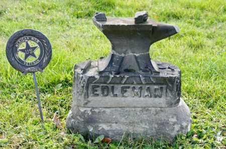 EDLEMAN, JOHN J. - Carroll County, Ohio | JOHN J. EDLEMAN - Ohio Gravestone Photos