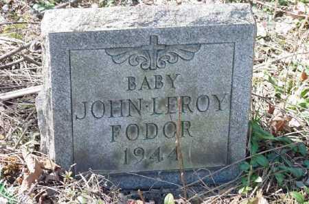 FODOR, JOHN LEROY - Carroll County, Ohio   JOHN LEROY FODOR - Ohio Gravestone Photos