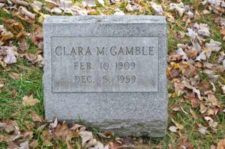 GAMBLE, CLARA M. - Carroll County, Ohio   CLARA M. GAMBLE - Ohio Gravestone Photos