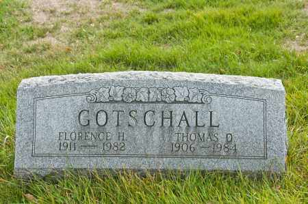 GOTSCHALL, FLORENCE H. - Carroll County, Ohio | FLORENCE H. GOTSCHALL - Ohio Gravestone Photos