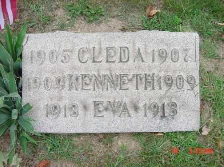GRANT, KENNETH - Carroll County, Ohio | KENNETH GRANT - Ohio Gravestone Photos