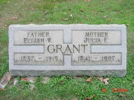 GRANT, ELIJAH W. - Carroll County, Ohio   ELIJAH W. GRANT - Ohio Gravestone Photos