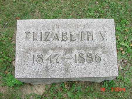 GRANT, ELIZABETH V. - Carroll County, Ohio | ELIZABETH V. GRANT - Ohio Gravestone Photos