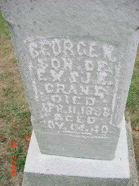 GRANT, GEORGE W. - Carroll County, Ohio | GEORGE W. GRANT - Ohio Gravestone Photos