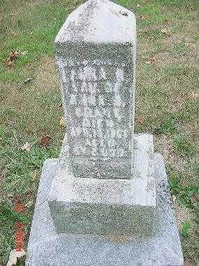 GRANT, LAURA B. - Carroll County, Ohio   LAURA B. GRANT - Ohio Gravestone Photos