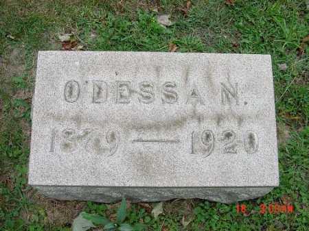 """GRANT, ODESSA """"NANNIE"""" - Carroll County, Ohio   ODESSA """"NANNIE"""" GRANT - Ohio Gravestone Photos"""