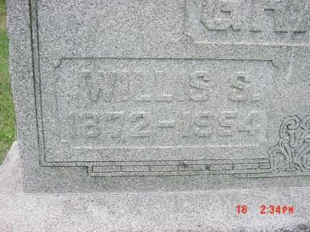 GRANT, WILLIS S. - Carroll County, Ohio | WILLIS S. GRANT - Ohio Gravestone Photos
