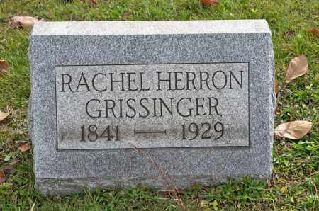 GRISSINGER, RACHEL - Carroll County, Ohio | RACHEL GRISSINGER - Ohio Gravestone Photos