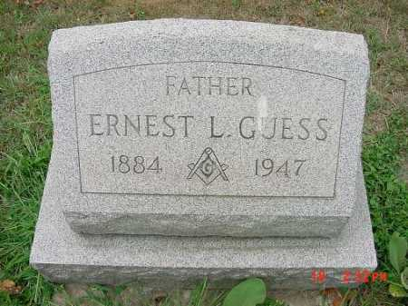 GUESS, ERNEST L. - Carroll County, Ohio   ERNEST L. GUESS - Ohio Gravestone Photos
