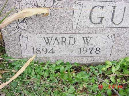 GUESS, WARD W. - Carroll County, Ohio   WARD W. GUESS - Ohio Gravestone Photos