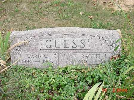 GUESS, WARD W. MONUMENT - Carroll County, Ohio | WARD W. MONUMENT GUESS - Ohio Gravestone Photos