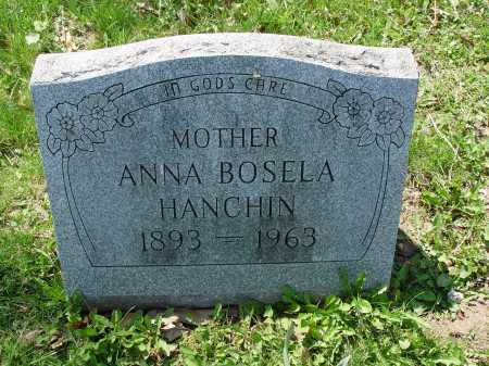 HANCHIN, ANNA - Carroll County, Ohio | ANNA HANCHIN - Ohio Gravestone Photos