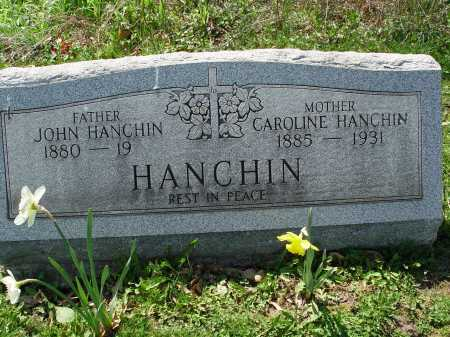 HANCHIN, JOHN - Carroll County, Ohio | JOHN HANCHIN - Ohio Gravestone Photos