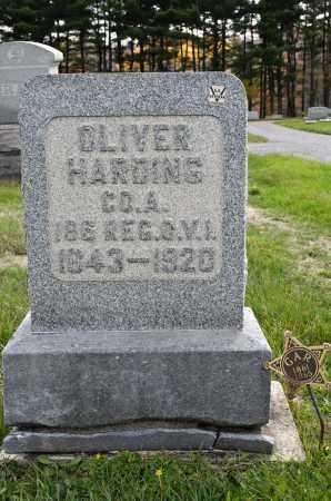 HARDING, OLIVER - Carroll County, Ohio | OLIVER HARDING - Ohio Gravestone Photos