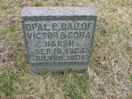 HARSH, OPAL E. - Carroll County, Ohio   OPAL E. HARSH - Ohio Gravestone Photos