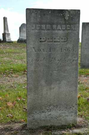HAUCK, JOHN - Carroll County, Ohio | JOHN HAUCK - Ohio Gravestone Photos
