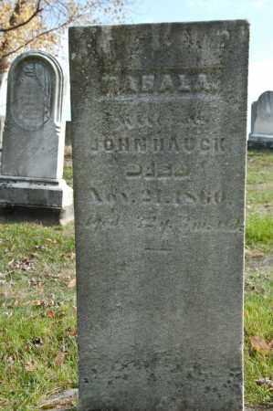 STAHL HAUCK, MAHALA - Carroll County, Ohio   MAHALA STAHL HAUCK - Ohio Gravestone Photos