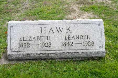 HAWK, ELIZABETH - Carroll County, Ohio | ELIZABETH HAWK - Ohio Gravestone Photos
