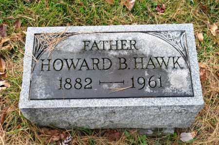 HAWK, HOWARD B. - Carroll County, Ohio | HOWARD B. HAWK - Ohio Gravestone Photos