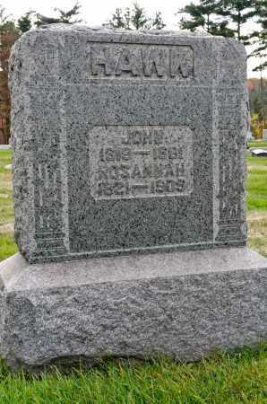 COYAN HAWK, ROSANNAH - Carroll County, Ohio | ROSANNAH COYAN HAWK - Ohio Gravestone Photos
