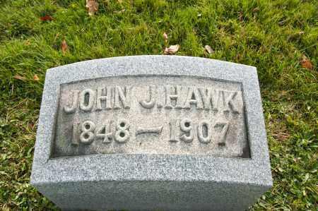HAWK, JOHN J. - Carroll County, Ohio | JOHN J. HAWK - Ohio Gravestone Photos