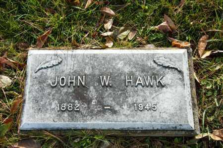 HAWK, JOHN W. - Carroll County, Ohio | JOHN W. HAWK - Ohio Gravestone Photos