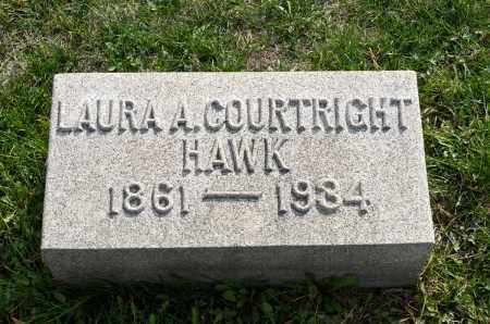 HAWK, LAURA A. - Carroll County, Ohio   LAURA A. HAWK - Ohio Gravestone Photos