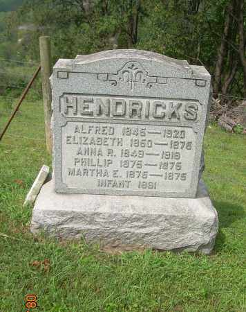 HENDRICKS, INFANT - Carroll County, Ohio | INFANT HENDRICKS - Ohio Gravestone Photos