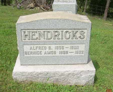 AMOS HENDRICKS, BERNICE - Carroll County, Ohio | BERNICE AMOS HENDRICKS - Ohio Gravestone Photos