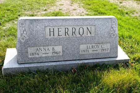HERRON, ANNA BELL - Carroll County, Ohio | ANNA BELL HERRON - Ohio Gravestone Photos