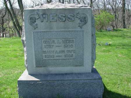 HESS, MARY A. - Carroll County, Ohio | MARY A. HESS - Ohio Gravestone Photos