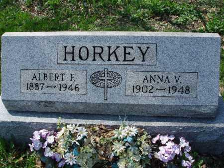 HORKEY, ALBERT F. - Carroll County, Ohio   ALBERT F. HORKEY - Ohio Gravestone Photos