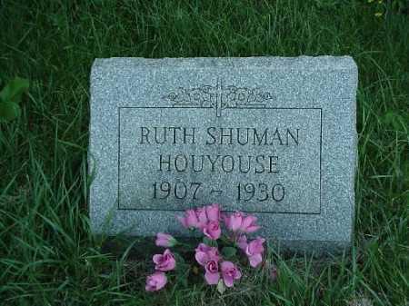 HOUYOUSE, RUTH - Carroll County, Ohio | RUTH HOUYOUSE - Ohio Gravestone Photos