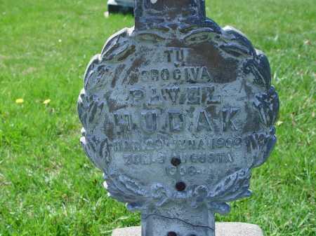 HUDAK, PASAL - CLOSE VIEW - Carroll County, Ohio | PASAL - CLOSE VIEW HUDAK - Ohio Gravestone Photos