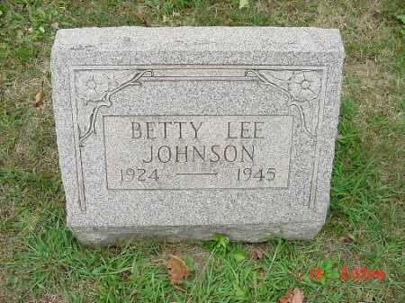 JOHNSON, BETTY LEE - Carroll County, Ohio | BETTY LEE JOHNSON - Ohio Gravestone Photos