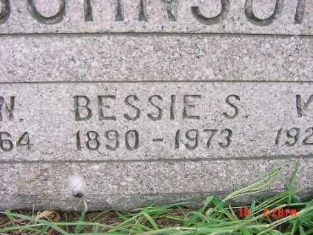 JOHNSON, BESSIE S. - Carroll County, Ohio | BESSIE S. JOHNSON - Ohio Gravestone Photos