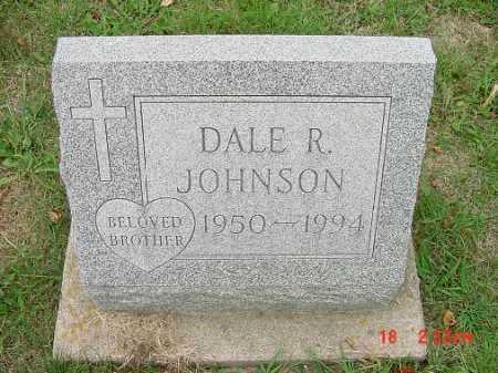 JOHNSON, DALE R. - Carroll County, Ohio   DALE R. JOHNSON - Ohio Gravestone Photos
