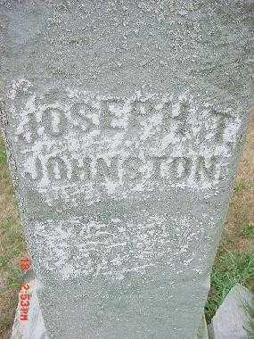 JOHNSON, JOSEPH T. - Carroll County, Ohio | JOSEPH T. JOHNSON - Ohio Gravestone Photos