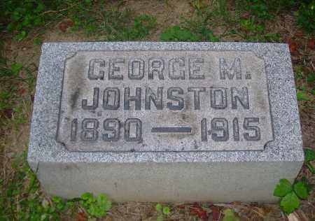 JOHNSTON, GEORGE M - Carroll County, Ohio | GEORGE M JOHNSTON - Ohio Gravestone Photos