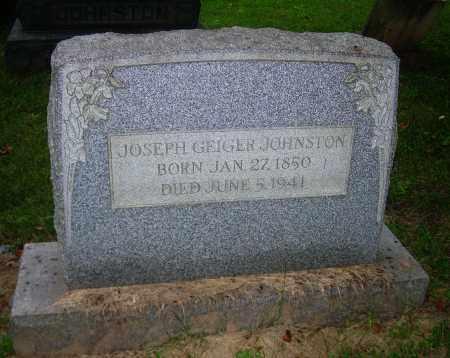 GEIGER JOHNSTON, JOSEPH - Carroll County, Ohio | JOSEPH GEIGER JOHNSTON - Ohio Gravestone Photos