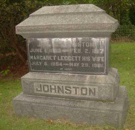 JOHNSTON, MARGARET - Carroll County, Ohio | MARGARET JOHNSTON - Ohio Gravestone Photos