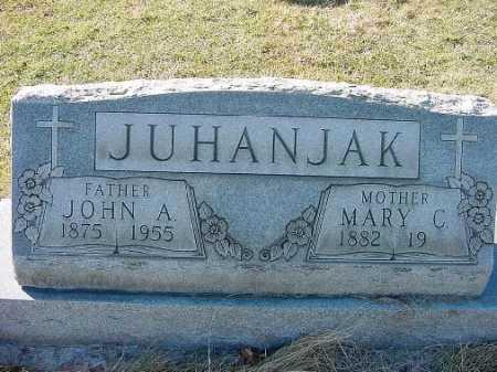 JUHANJAK, MARY C. - Carroll County, Ohio | MARY C. JUHANJAK - Ohio Gravestone Photos