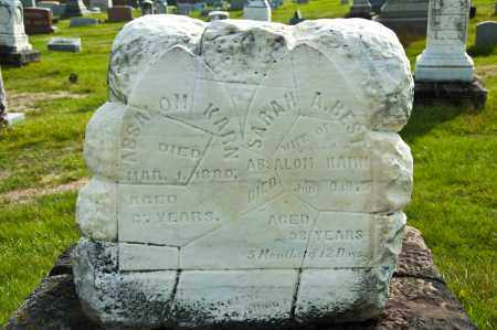BEST KARN, SARAH A. - Carroll County, Ohio | SARAH A. BEST KARN - Ohio Gravestone Photos