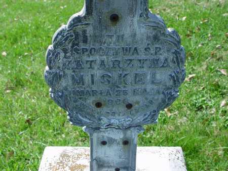 KATARZYNA, MISKEL - Carroll County, Ohio | MISKEL KATARZYNA - Ohio Gravestone Photos