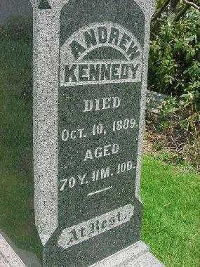 KENNEDY, ANDREW - Carroll County, Ohio | ANDREW KENNEDY - Ohio Gravestone Photos