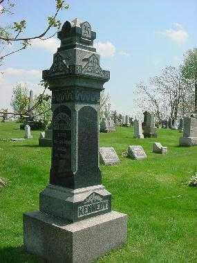 KENNEDY, MONUMENT - Carroll County, Ohio | MONUMENT KENNEDY - Ohio Gravestone Photos